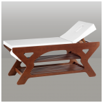 wooden physiotherapy couch