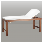 Wooden massage couch