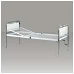 Single crank Hospital bed with dismountable bed-board