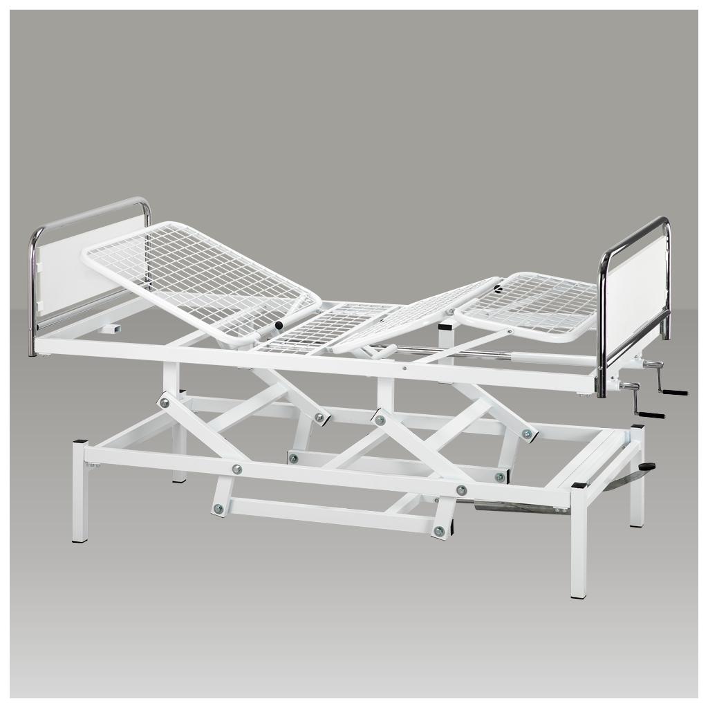 Base di sollevamento oleodinamica per letto da degenza