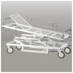 Patient Stretcher with Adjustable Height and Trendelenburg